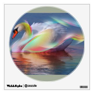 Serenity Swan Wall Sticker