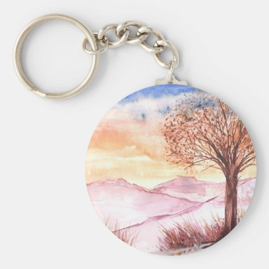 Serenity Tree Keychain