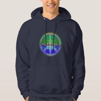 Serenity Tree of Life with Peace Symbol Hoodie