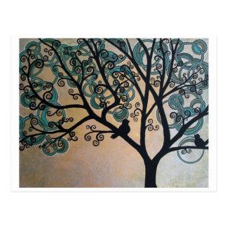 Serenity Tree Postcard
