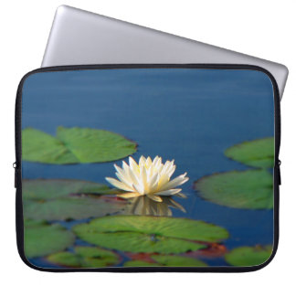 Serenity Water Lily Laptop Computer Sleeves