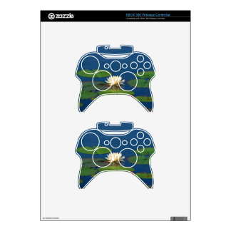 Serenity Water Lily Xbox 360 Controller Skin