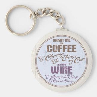 Serenity Wine III Keychain