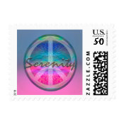 Serenity with Peace Symbol Postage (<em>$23.20</em>)