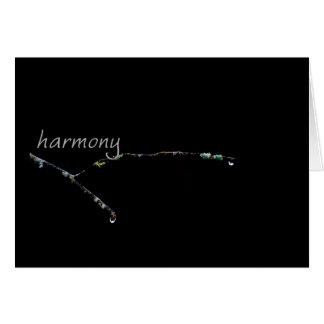 Serenity Word Drops: Harmony Card