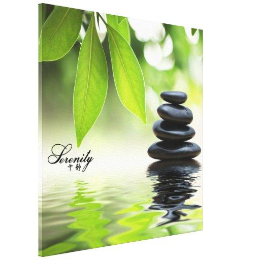 """Serenity"" Zen Canvas Print"