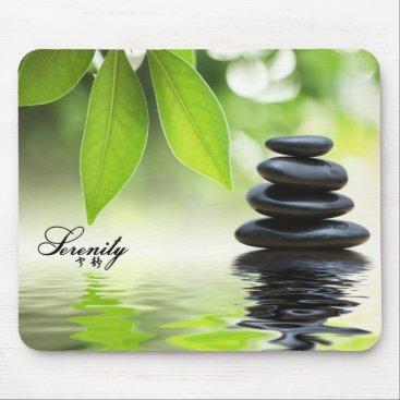 """AV_Designs """"Serenity"""" Zen Rocks Mousepad"""