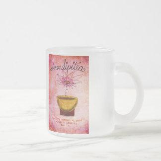 SerentipiTEA 19 de febrero qué mi té dice a mí Taza De Cristal