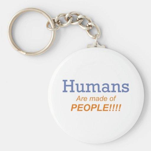 Seres humanos/gente llaveros