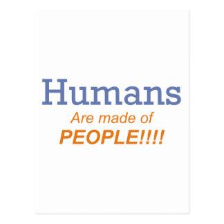 Seres humanos/gente postales