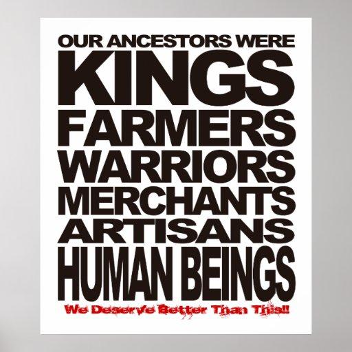 Seres humanos posters