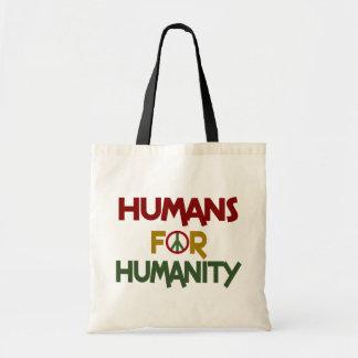 Seres humanos para el personalizado de la humanida bolsa de mano