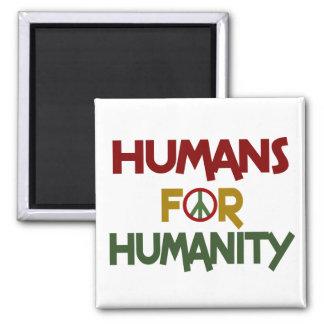 Seres humanos para el personalizado de la humanida imán de frigorifico