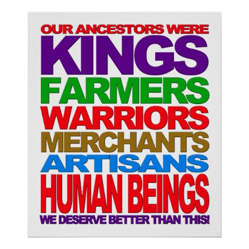 Seres humanos póster