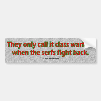 SerfsFightBack Bumper Sticker