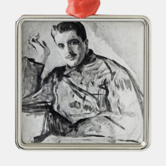 Serge Diaghilev, 1904 Metal Ornament