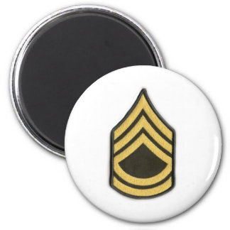 SERGEANT 1ST CLASS E-7 2 INCH ROUND MAGNET
