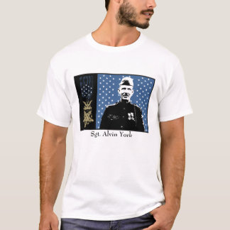 Sergeant Alvin York and Medal of Honor T-Shirt