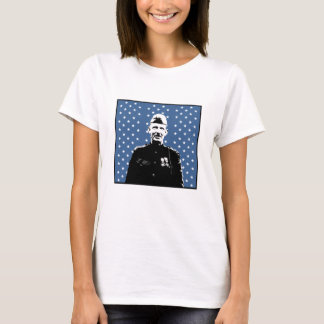 Sergeant Alvin York and MOH Flag T-Shirt