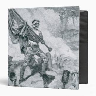 Sergeant Jasper at the Battle of Fort Moultrie Vinyl Binders