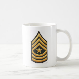 SERGEANT MAJOR E-9 COFFEE MUG