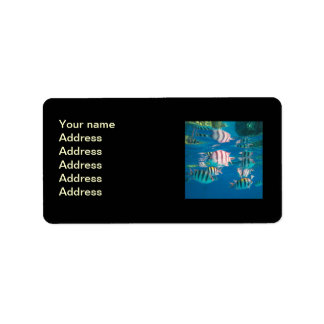 Sergeant Major Fish Address Label