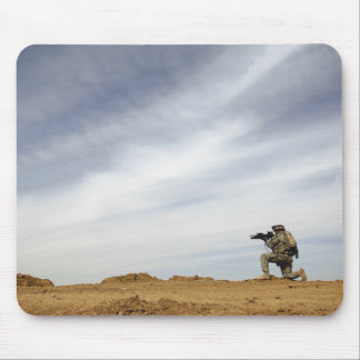 Sergeant provides security mouse pad