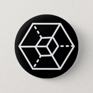 "Sergeant (+) / Standard, 5.7 cm (2.25"") Badge Pinback Button"