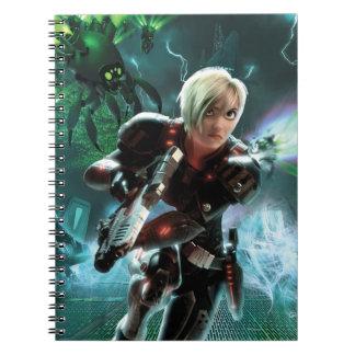 Sergeant Tammy Calhoun Running Spiral Notebook