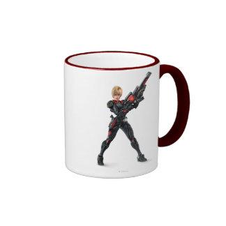 Sergeant Tammy Calhoun with Guh Ringer Coffee Mug
