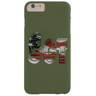 Sergeant USA Military Army Green American SGT Barely There iPhone 6 Plus Case