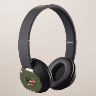 Sergeant USA Military Army Green American SGT Headphones