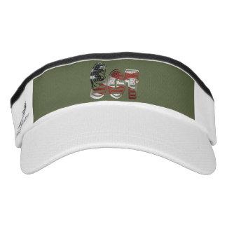 Sergeant USA Military Army Green American SGT Visor