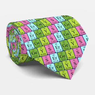 Sergey periodic table name tie