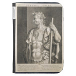 Sergius Galba Emperor of Rome 68 AD engraved by Ae Kindle Folio Case