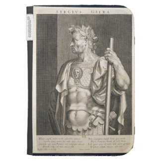 Sergius Galba Emperor of Rome 68 AD engraved by Ae Kindle Cases