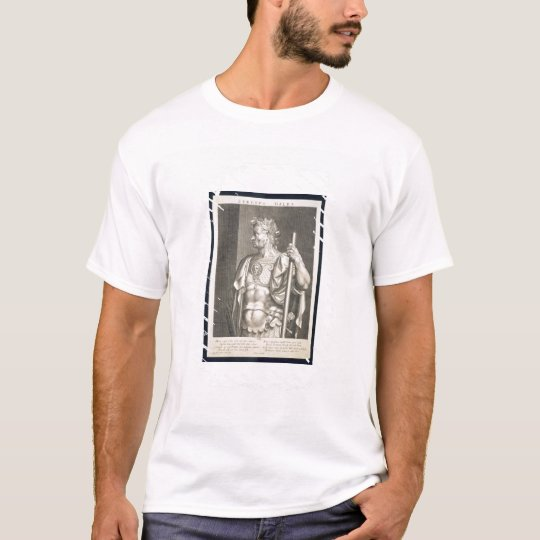 Sergius Galba Emperor of Rome 68 AD engraved by Ae T-Shirt