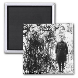 Sergt. Alvin C. York, 328th Infantry_War Image Magnet