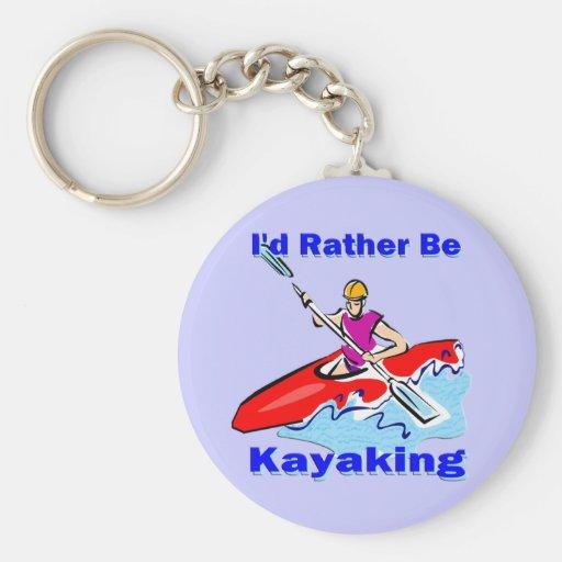 Sería bastante 1 Kayaking Llavero