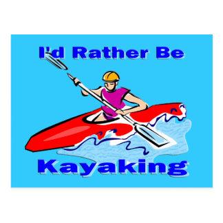 Sería bastante 1 Kayaking Postal
