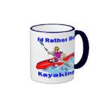Sería bastante 1 Kayaking Taza De Café