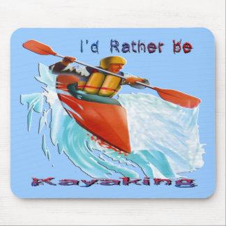 Sería bastante 2 Kayaking Alfombrilla De Ratón