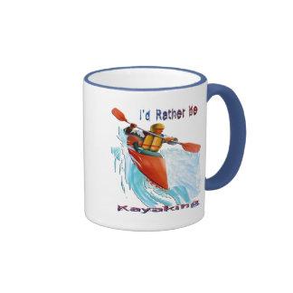 Sería bastante 2 Kayaking Taza De Café