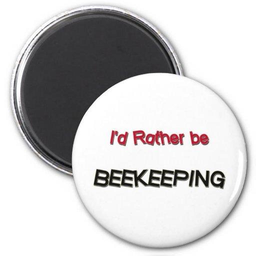 Sería bastante apicultura imán de nevera