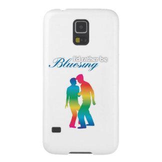 Sería bastante arco iris de Bluesing Carcasa Para Galaxy S5