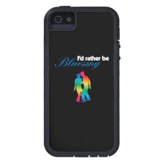 Sería bastante arco iris de Bluesing para la iPhone 5 Coberturas
