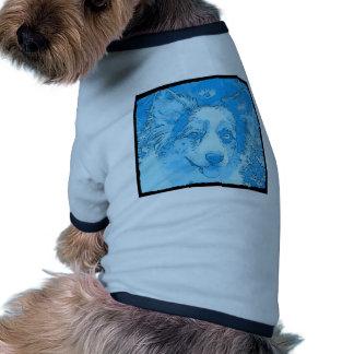 Sería bastante azul camisetas de perrito