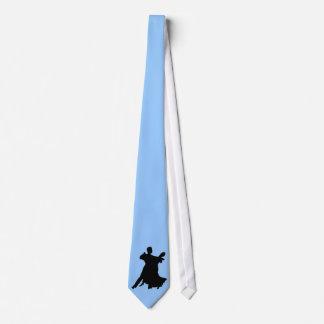 Sería bastante baile de salón de baile corbata personalizada