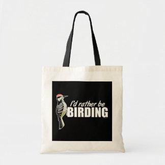 Sería bastante Birding Bolsa