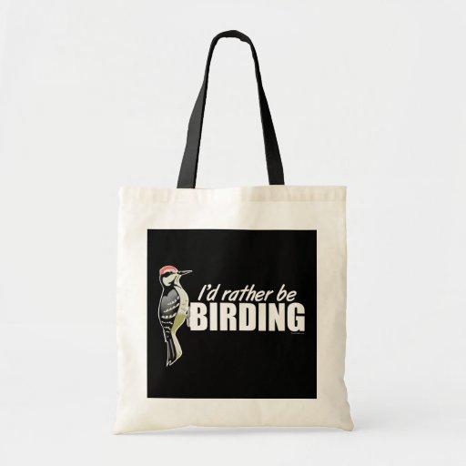 Sería bastante Birding Bolsa Tela Barata